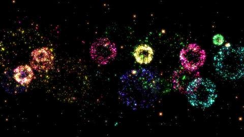 Fireworks bg loop 22 Animation