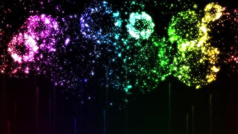 Fireworks bg loop 24 Animation