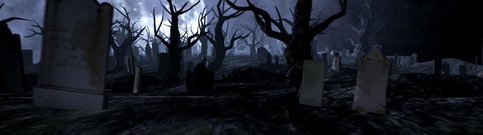 Dark Cemetery Animation