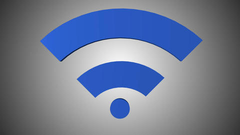 Wi fi icon 06 Animation