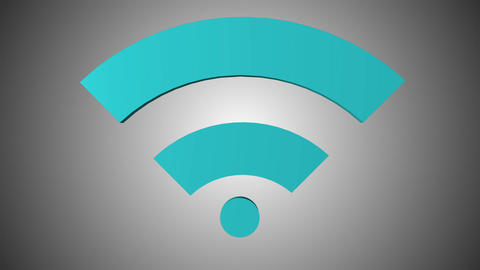 Wi fi icon 08 Animation