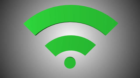 Wi fi icon 10 Animation