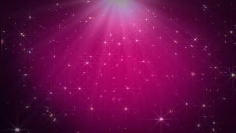 Abstract Pink Sparkles Animation
