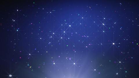 Blue Sparkles Animation