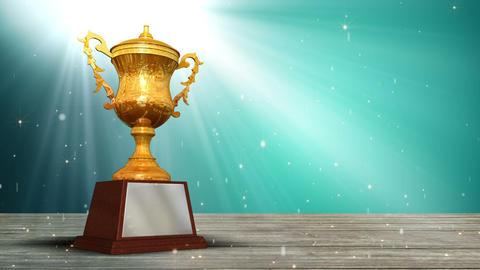 Trophy Winner Background Animation