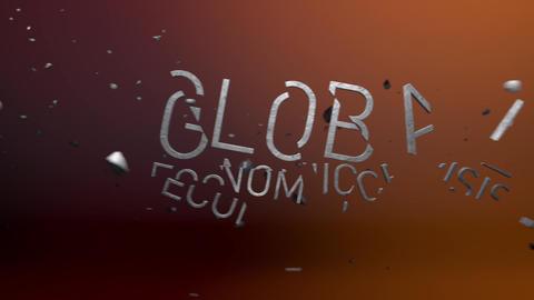 Global Economic Crisis Stock Video Footage