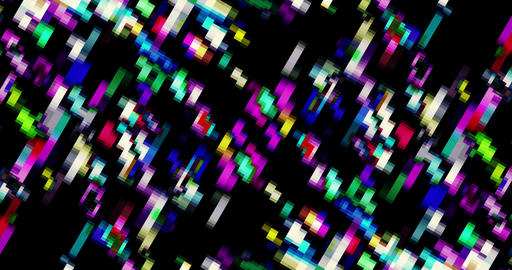 Broadcast Twinkling Squared Abstract Animation Animation