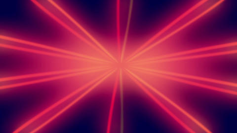 Red Star Shining Lines Loopable Background Animation