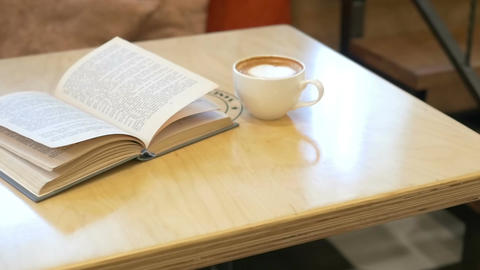 A Cup Of Coffe And Book