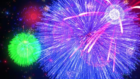 Fireworks Festival 3 A2 4k Animation