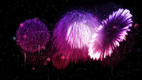 Fireworks Festival 3 D1 4k Animation