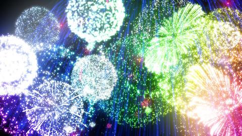 Fireworks Festival 3 Em 4k Animation