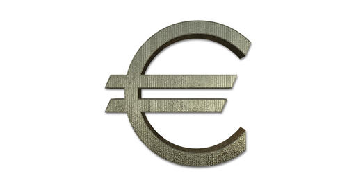 Euro Symbol Rotating Live Action