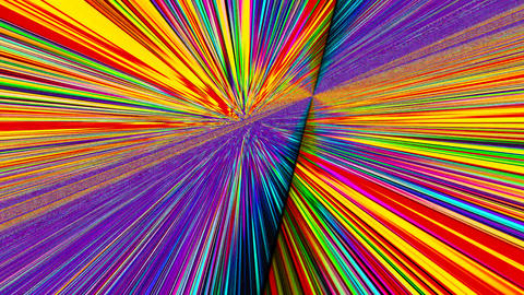 Spellbinding bad trip effect or light leak glittering background Footage