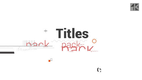 Glitch Titles V2 After Effects Template