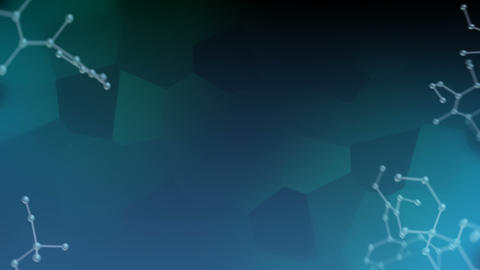 Molecular structure Dv2 dark 4k Animation