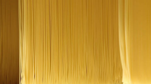 Background, texture of pasta and spaghetti closeup Footage
