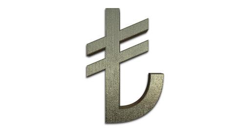 Turkish Lira Symbol Live Action