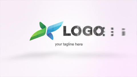 Post Elegant Logo Animation After Effects Template