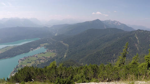 Panorama of Walchensee Live Action