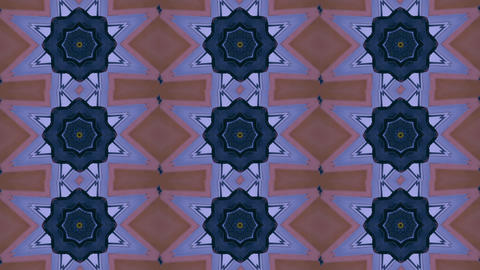 Abstract kaleidoscope motion background. Sequence multicolored graphics Live Action
