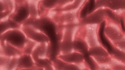 01 cloth Silk Red Particles Animation