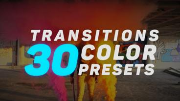 Transitions Color Presets v.2 Premiere Pro Effect Preset