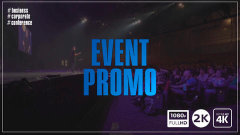 Business Event Promotion After Effects Templates