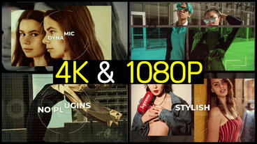 Cinematic Fashion Promo After Effects Templates