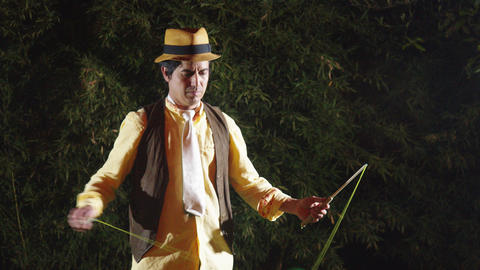 High Speed Diabolo Juggler In Ecuador Live Action