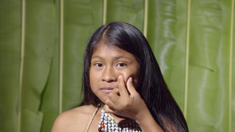 Young Girl Pimple Popping In Ecuador Live Action