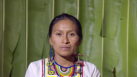 Woman Pimple Popping In Ecuador Live Action