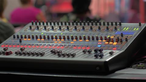 Professional Sound Console Live Action