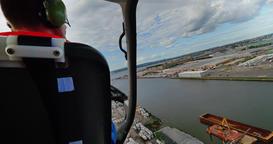 Helicopter Pilot Lands Chopper Footage