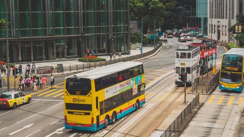Hong Kong Traffic. Part 4. 2