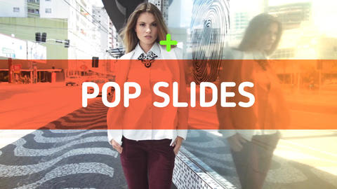 Pop Slides After Effects Template