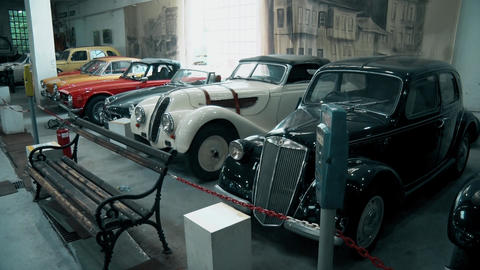 Beautiful Old and preserved cars GIF