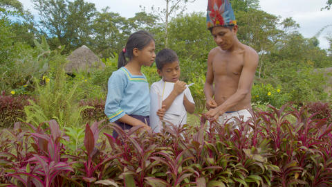 Indigenous Teacher Shares Traditional Knowledge With His Students In Ecuador Live Action