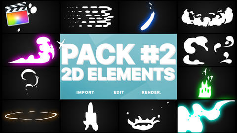 Elements Pack 02 Apple Motion Template