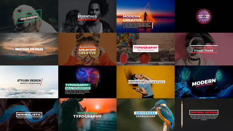 Essentials Titles After Effects Template