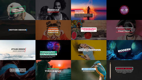 Essentials Titles Premiere Pro Template