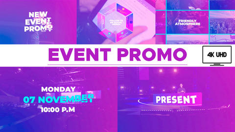 Corporate Event Promo After Effects Templates