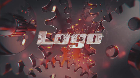 Industrial Mechanic Logo After Effects Template