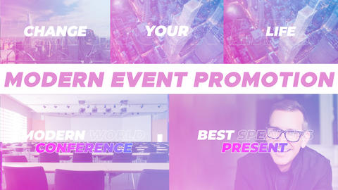 Modern Event Promotion After Effects Template