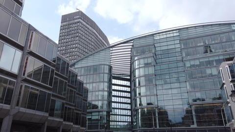 Cardinal Place shopping centre on Victoria Street, Westminster London Live Action