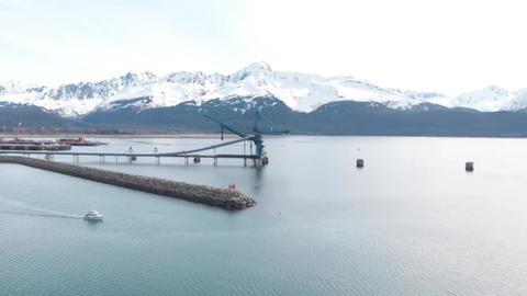 Little boat in Alaska Live Action