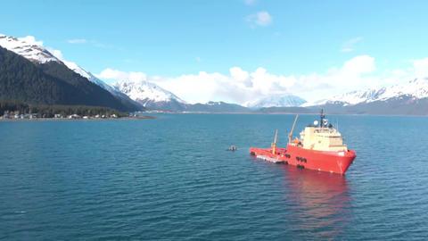 Big ship in Alaska Live Action