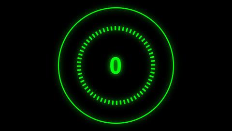 Futuristic Technology Loading Circle Ring Animation