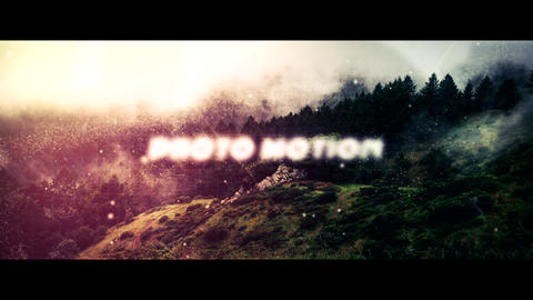 Photo Motion After Effects Template