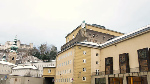 The Salzburg Festival Theater, the birthplace of Wolfgang Amadeus Live Action
